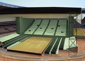 Así es la pista para la final de la Copa Davis