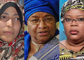 Histórico Nobel de la Paz: por primera vez lo ganan tres mujeres activistas de los derechos femeninos