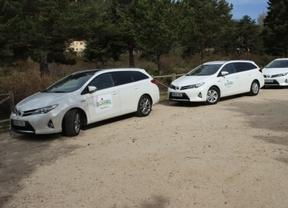 Toyota España entrega una flota de 20 híbridos a Laboratorios BOIRON