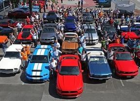 Más de 750 Ford Mustang se concentran en Alemania para celebrar el 50 aniversario del modelo