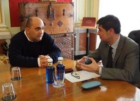 Avila se reúne con el nuevo director de la Universidad Internacional Menéndez Pelayo