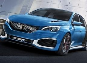 Peugeot presenta una versión híbrida enchufable del 308 con 500 caballos de potencia