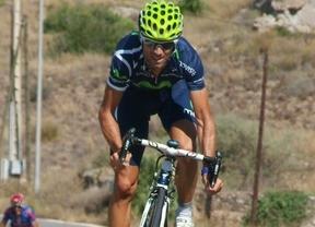 Alejandro Valverde se conforma con subir al podio en el Tour, según explica el director del Movistar