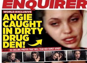 Salen a la luz pública las supuestas adicciones en una demacrada Angelina Jolie