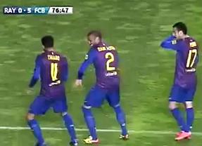 Barça, la celebración más polémica: Thiago y Alves, criticados por Guardiola y Puyol