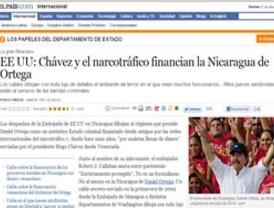Gobierno nicaragüense es financiado por Chávez