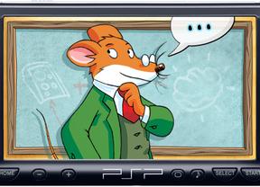 Geronimo Stilton también juega en PSP