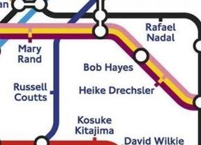 Próxima estación del metro de Londres: Rafael Nadal, en honor a los JJOO