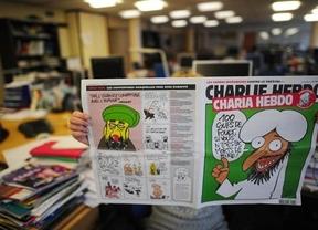 La revisa satírica 'Charlie Hebdo' contrarresta el ataque radical con una nueva caricatura de Mahoma