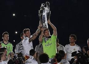 El Bernabéu estalla de alegría en la fiesta de la Décima