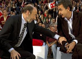 Rubalcaba admite, al fin, que Zapatero ha hecho cosas que no le han gustado
