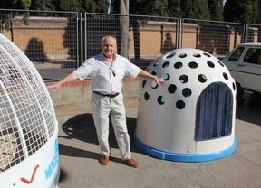 Vitantonio Cannillo, inventor del Water Can, para que las mascotas no ensucien la vía pública
