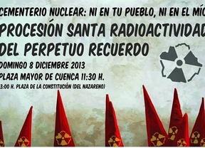 Polémica por una manifestación contra el silo nuclear de Cuenca con formato de 'procesión'