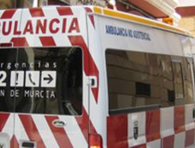 Herido grave un trabajador al desplomarse el andamio en el que se encontraba en Cartagena