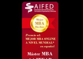 El MBA online del ITEAP Premio al mejor Máster low cost en español