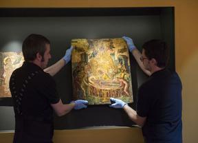 'Dormición de la Virgen' abandona la exposición 'El griego de Toledo'