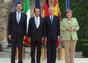 Rajoy ficha a Hollande de aliado para acelerar la aplicación de 'medicina' a la crisis de deuda