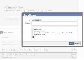 BitTorrent permite compartir archivos directamente con los contactos de Facebook