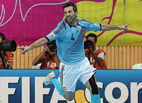 Fútbol-sala: España, con Torras de figura, le hace un siete a Tailandoia y se mete en cuartos (7-1)
