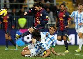 Repetición de la jugada: otro Barça-Málaga, ahora en Copa del Rey con los azulgrana más favoritos