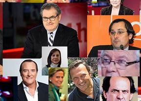 El veredicto de las tertulias: Sánchez gana terreno frente a un Rajoy
