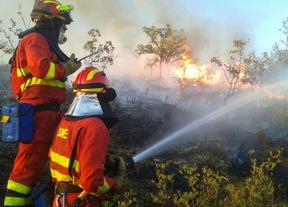 Baja a nivel 1 el incendio de Guadalajara