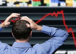 Las bolsas empiezan a caer arrastradas por Grecia: el parqué heleno se dejó un 9,24%, el Ibex sólo un 1,34%