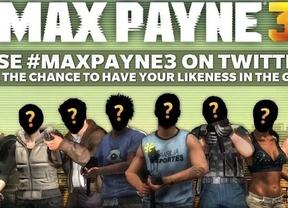 Protagonizar el próximo videojuego de Max Payne, al alcance de un 'tuit'
