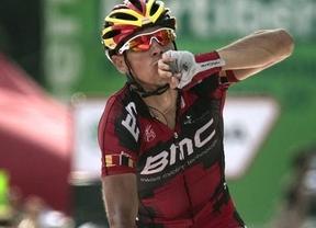 Vuelta. Gilbert gana en Barcelona y Purito le 'roba' 17 segundos a Valverde y 20 a Contador