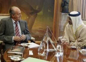 El Rey vuelve al trabajo: se reúne con un ministro de Emiratos Árabes