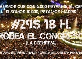 29-S: Nueva convocatoria para rodear el Congreso este sábado a las 18h