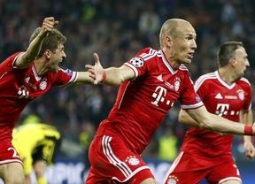 Un afortunado gol de Robben da el título de la Champiopns al Bayern Munich (2-1)