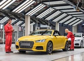 Audi inicia la producción del nuevo TT Roadster en Hungría