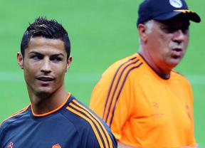 Ancelotti lo tiene claro: ni siquiera ve a Messi a la altura de Cristiano para el Balón de Oro