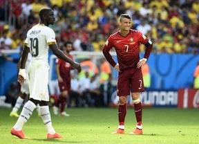 Portugal y Cristiano no aprovechan el favor de Alemania y quedan eliminados del Mundial