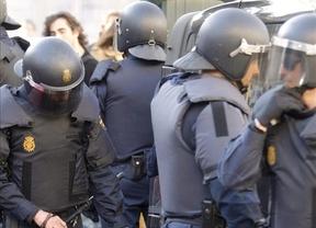 Cerca de 400 antidisturbios se desplegarán en la Puerta del Sol por la manifestación de Podemos