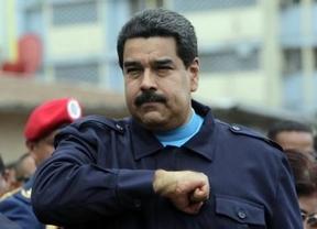 Maduro llama a la guerra contra Rajoy, a quien acusa de pertenecer a