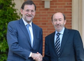 Rubalcaba y Rajoy confirman su intención de renovar el Tribunal Constitucional