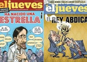 La revista satírica 'El Jueves' sale con un día de retraso, una portada autocensurada y mucha polémica
