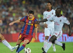 Partidazo en San Siro pero sin emoción: Barça y Milan, ya clasificados para octavos de Champions, se juegan el liderato del grupo