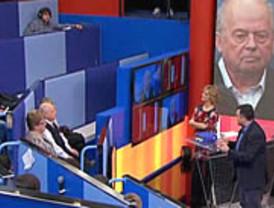 Puigcercós se erigió en la estrella de 'Tengo una pregunta para usted' al negarse a contestar en castellano