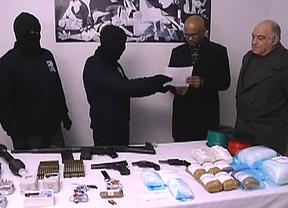 ETA comunica que ha iniciado el sellado sus depósitos de armas