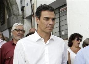 Pedro Sánchez acusa a Rajoy de utilizar la crisis para construir