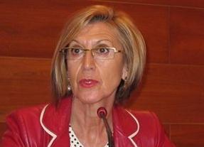 Rosa Díez, atacada por la 'trilateral amarilla' de la Policía