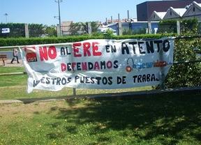 Comienzan los paros en Atento para protestar por el ERE que afecta al centro de Toledo