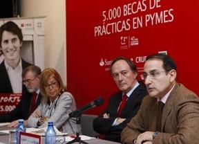 Banco Santander amplía hasta 2017 su programa de Becas de Prácticas en PYMES que beneficirá a 10.000 universitarios