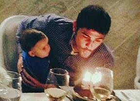 Iker Casillas, de fiesta el día del adiós de Mourinho