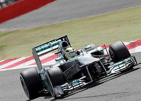GP de Gran Bretaña: Alonso, tercero en una accidentada carrera que ganó Rosberg