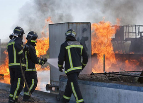 Los bomberos Guadalajara inician una huelga indefinida