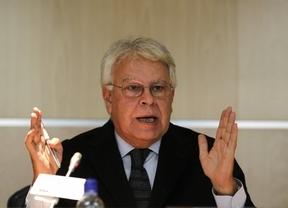 Felipe González aboga por cambiar la Constitución para adoptar el federalismo pero